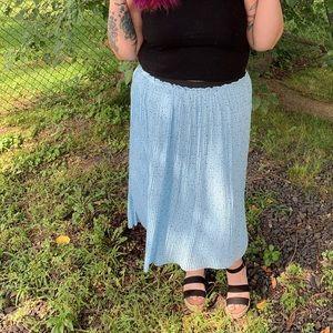 Blue star torrid skirt